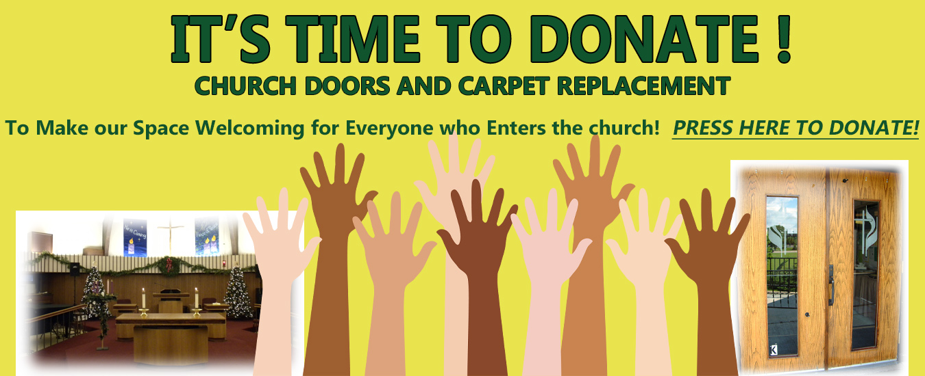 Carpet and Doors Fundraiser