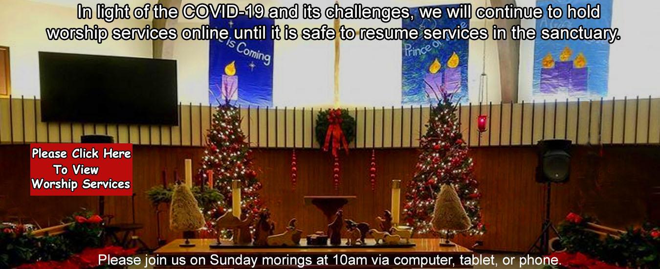 Christmas Church Banner 2020
