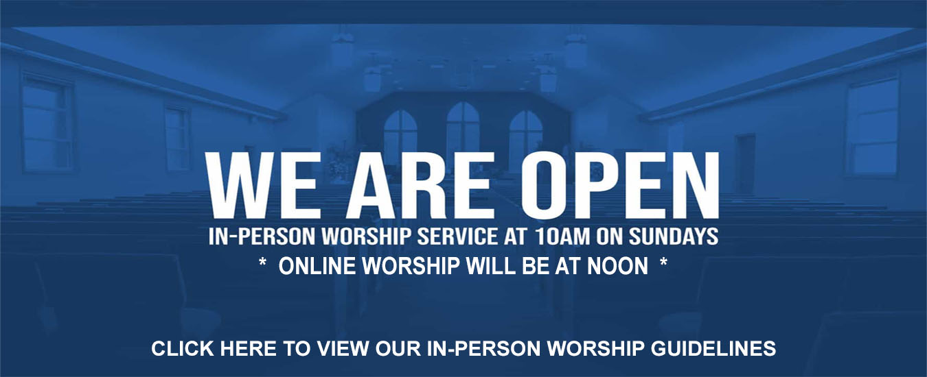 IN-PERSON WORSHIP W-GUIDELINE INFO