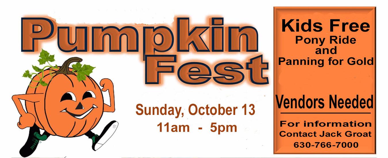 Pumpkin Fest Banner 2019