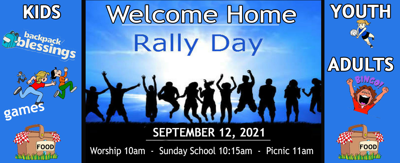 RALLY DAY BANNER