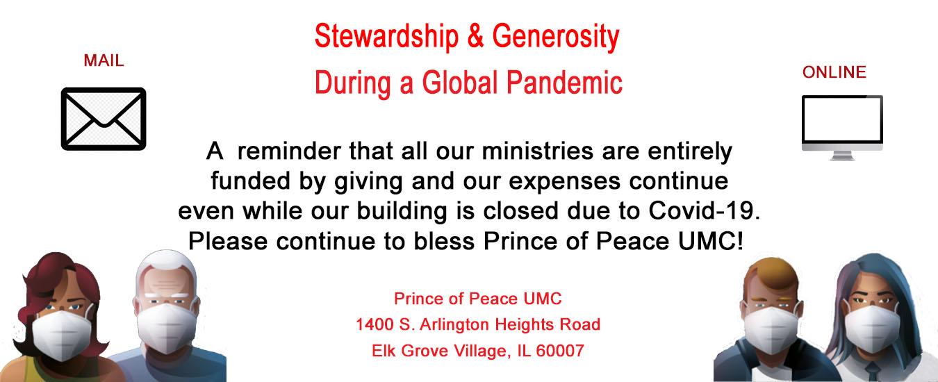 Stewardship Generosity 2021 Banner