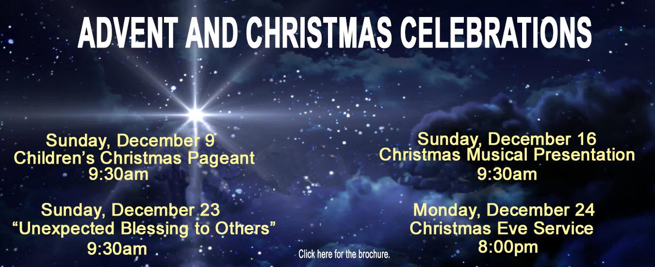 2018 Advent – Christmas website